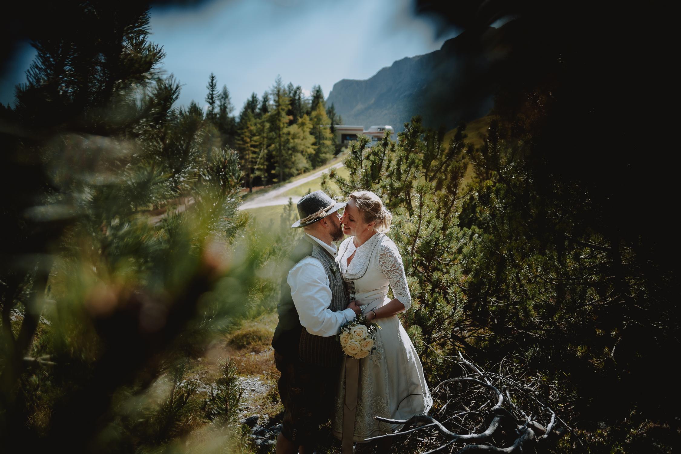 Matrimonio Intimo In Montagna